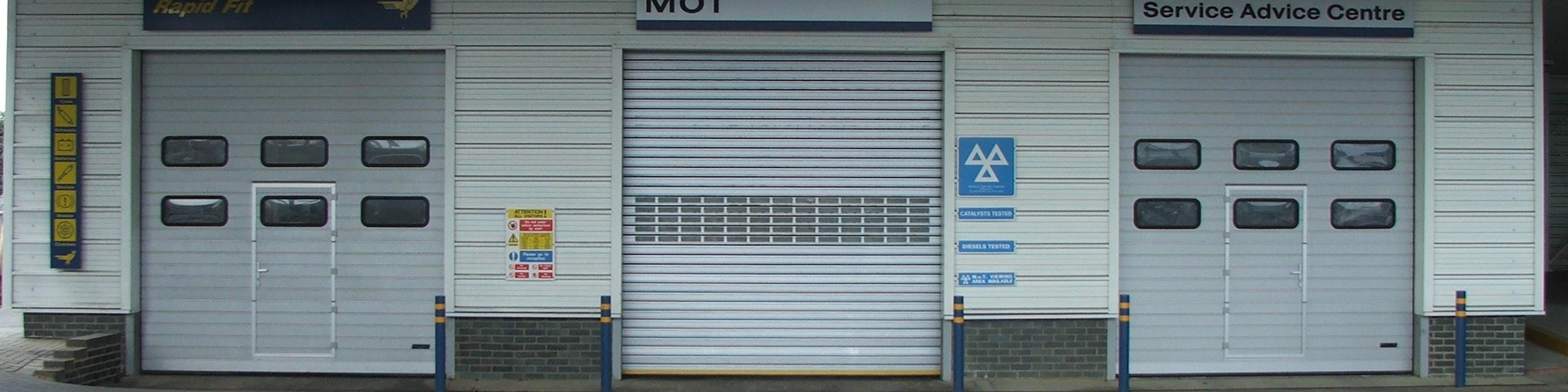 Sterling Industrial Doors for commercial doors...