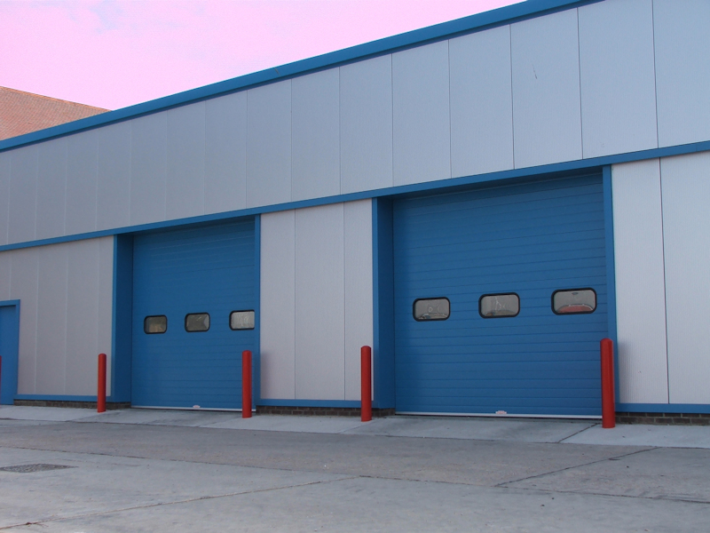 Sterling Industrial Sectional Doors Covering Sussex